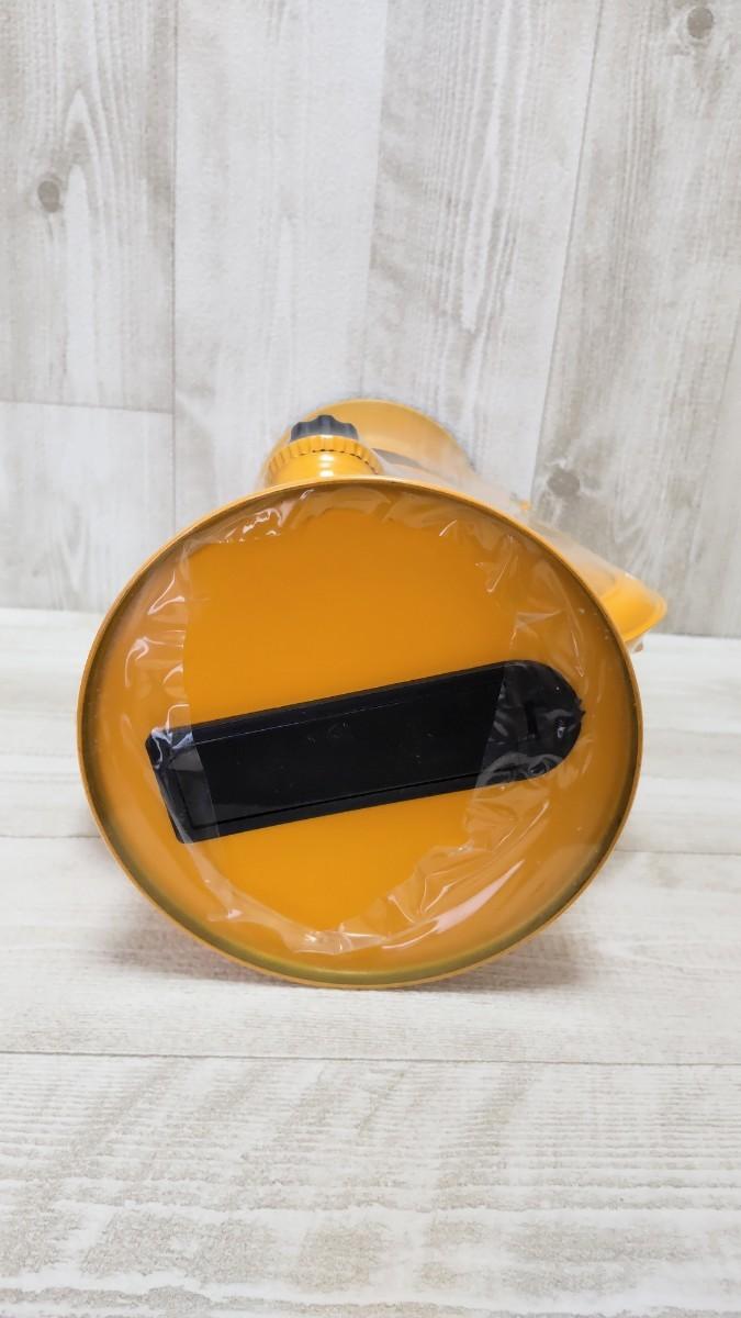 ソーラー LEDランタン ソーラーパネル イエロー 黄色 新品未使用