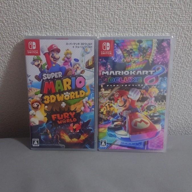 ニンテンドースイッチソフト  Nintendo Switchソフト   マリオカート8デラックス  スーパーマリオ3Dワールド
