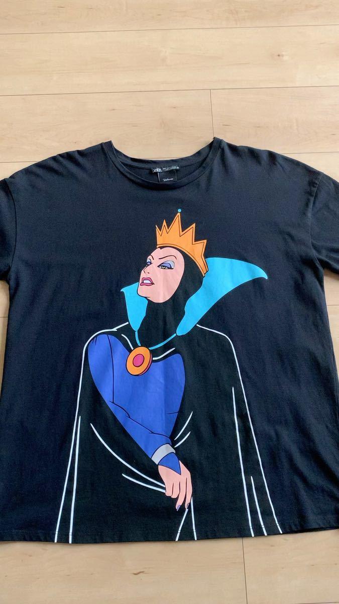 ZARA  ウィックドクイーン ディズニー Tシャツ