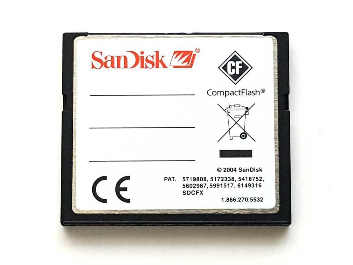 ☆並品☆ CFカード 2GB サンディスク エクストリームIII SanDisk Extreme III コンパクトフラッシュ CompactFlash Card_画像2