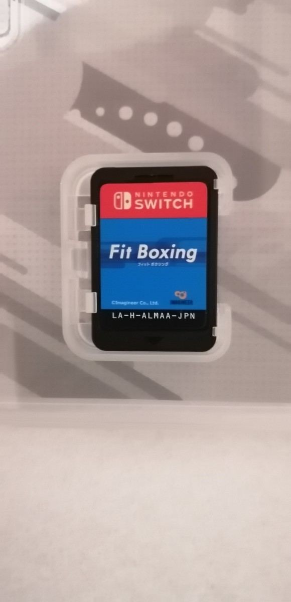 【Switch】 Fit Boxing  フィットボクシング 中古 スイッチソフト ダイエット、エクササイズ
