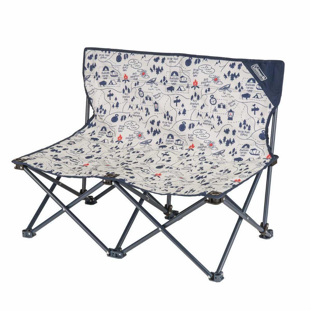 コールマン Coleman 2000033438 ファンチェアダブル キャンプマップ 2点セット ファン チェア ダブル キャンプ マップ アウトドア 椅子