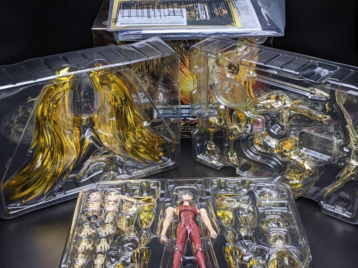 【送料込】聖闘士聖衣神話EX「サジタリアス アイオロス 神聖衣(初回購入特典付)」中古_ブリスター未開封です(※3段目は不明)