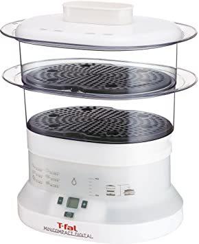 ティファール 電気蒸し器 スチームクッカー 「ミニコンパクト」 より手軽で小さなサイズ デジタル VC1361Q0_画像1