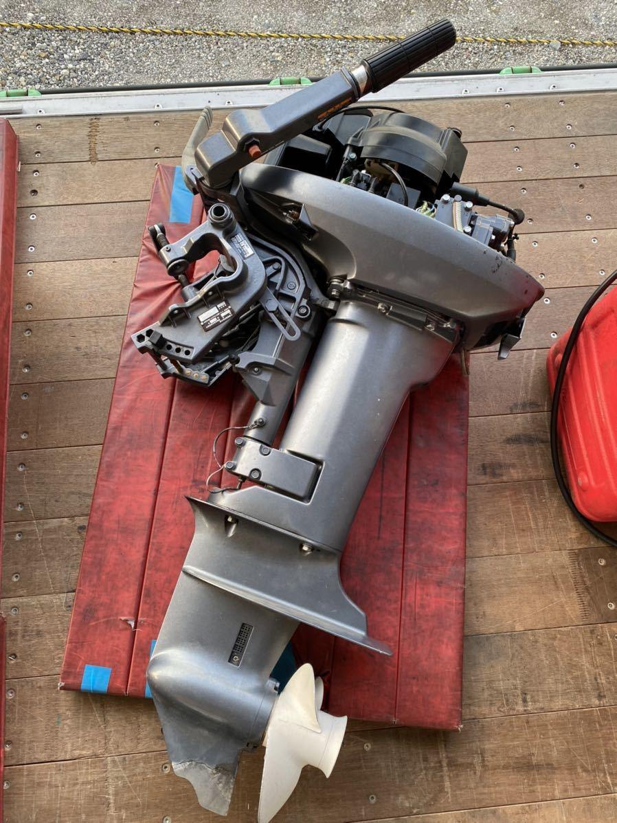 引取のみ!! 中古 ヤマハV-MAX Jr 15HP(15馬力)中古 燃料タンク接続ホース付き_画像1