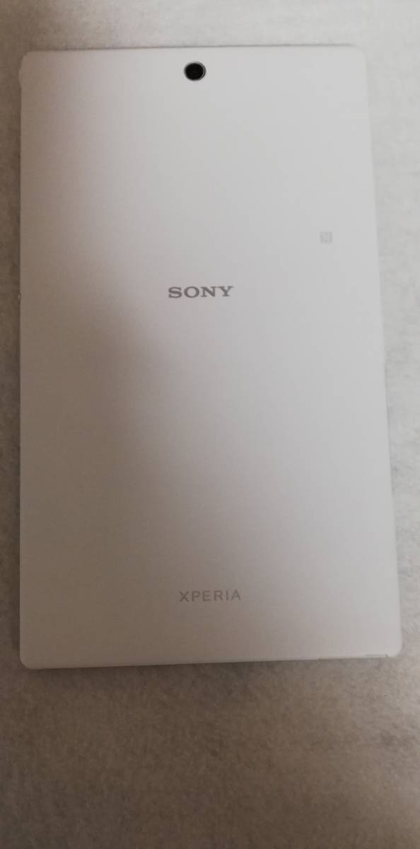 SONY Xperia Z3 Tablet Compact 16GB Wi-Fiモデル ホワイト SGP611JP 美品_画像1