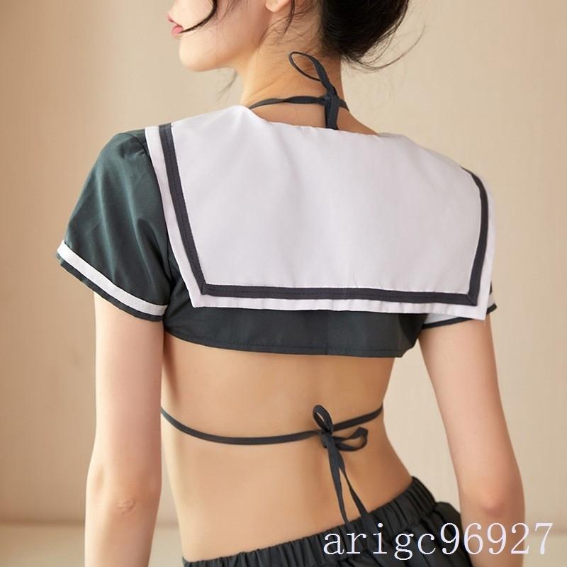 【送料無料】セクシー 可愛い学生服 コスプレ衣装 トップス ミニスカート_画像4