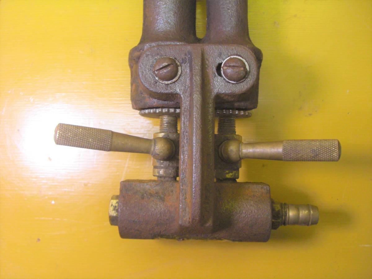 【良品】タチバナ製 TS-210H 鋳物コンロ 羽根付 2重巻バーナー ガスコンロ プロパン LP ガス G-10_画像5