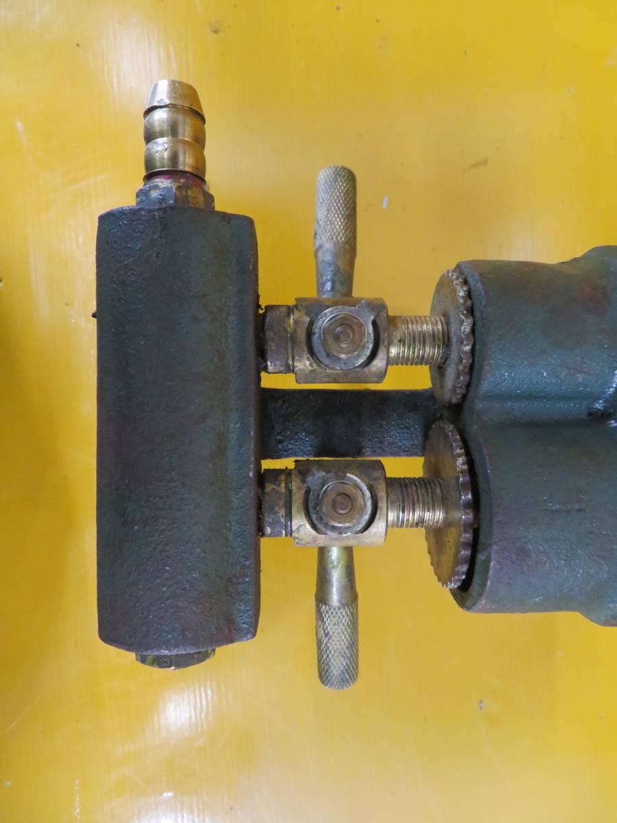 【良品】タチバナ製 TS-210H 鋳物コンロ 羽根付 2重巻バーナー ガスコンロ プロパン LP ガス G-05_画像5