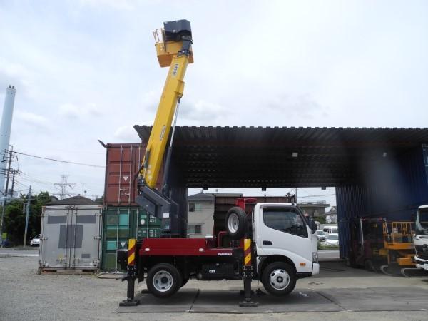 「すぐに活躍します!R1年登録!日野・デュトロ!高所作業車!地上高12.1M!最大作業範囲11M!」の画像1