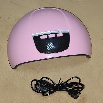 ネイルドライヤー ジェルネイルライト LED ネイルライト UVライト ネイル 人感センサー