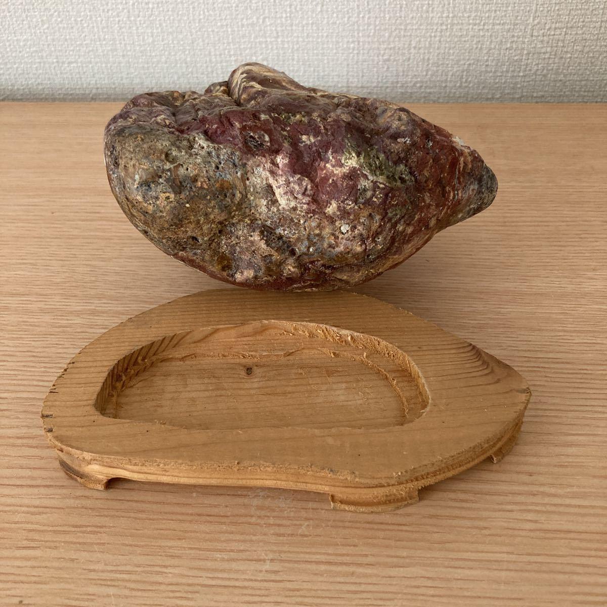 ■水石 ■鑑賞石 ■盆石■赤玉石■C-36_画像6