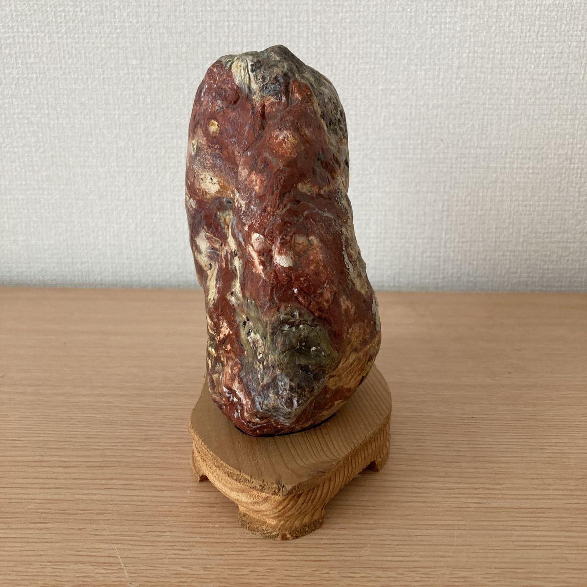 ■水石 ■鑑賞石 ■盆石■赤玉石■C-36_画像4