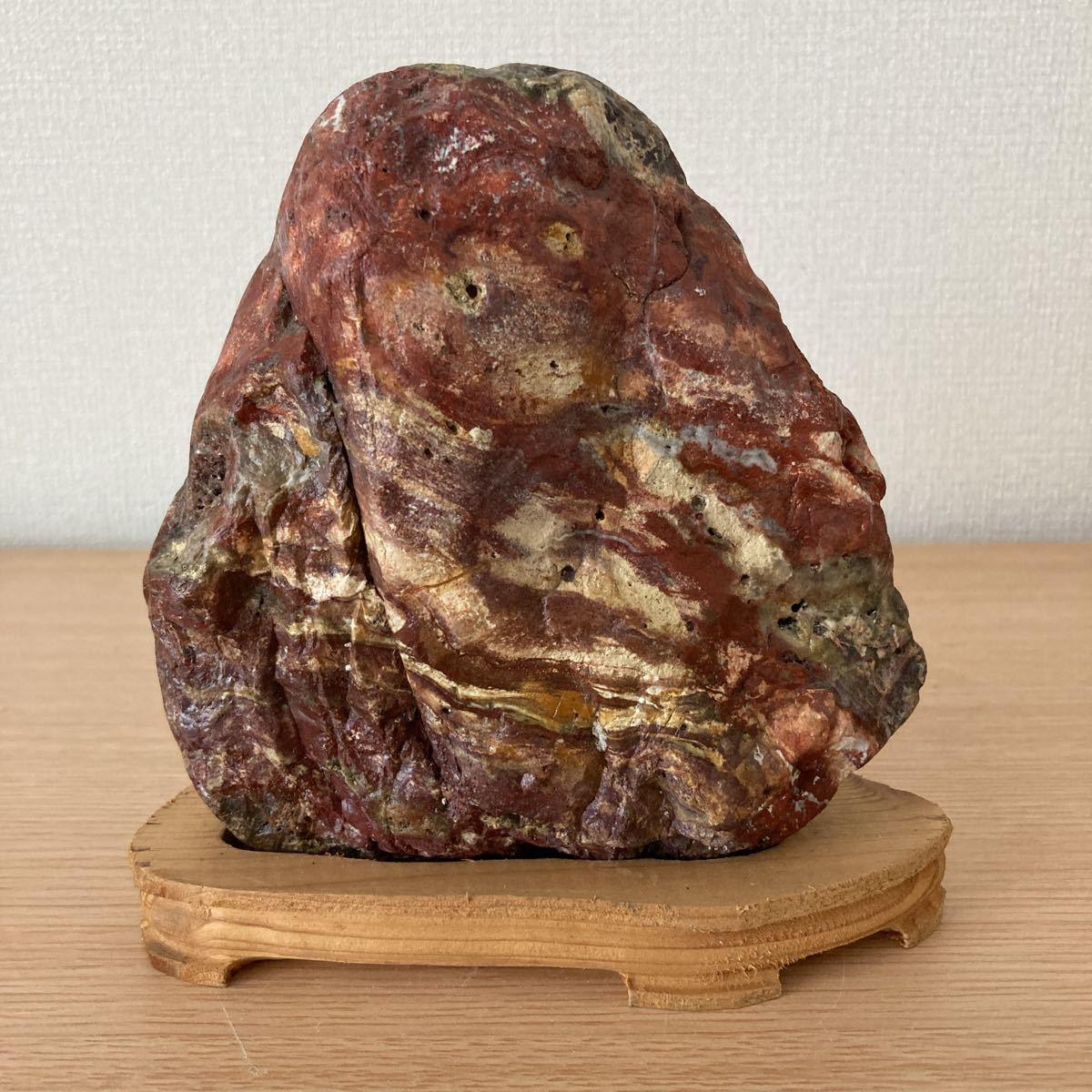 ■水石 ■鑑賞石 ■盆石■赤玉石■C-36_画像1