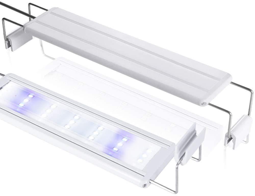LEDGLE 水槽ライト ledアクアリウムライト 10W 39個LED 50~60cm対応 熱帯魚/観賞魚飼育・水草育成・水槽照明用 省エネ 長寿命 (39LED灯)_画像1