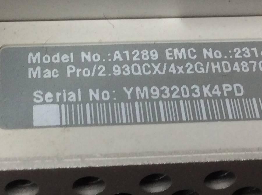 Apple Mac Pro Early2009 A1289 8GB■現状品_画像4