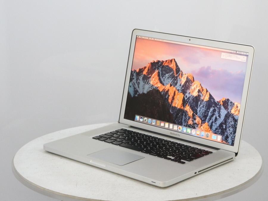Apple MacBookPro8,2 Early2011 A1286 macOS Core i7-2635QM 2.00GHz 4 GB 320 GB HDD■現状品_画像1
