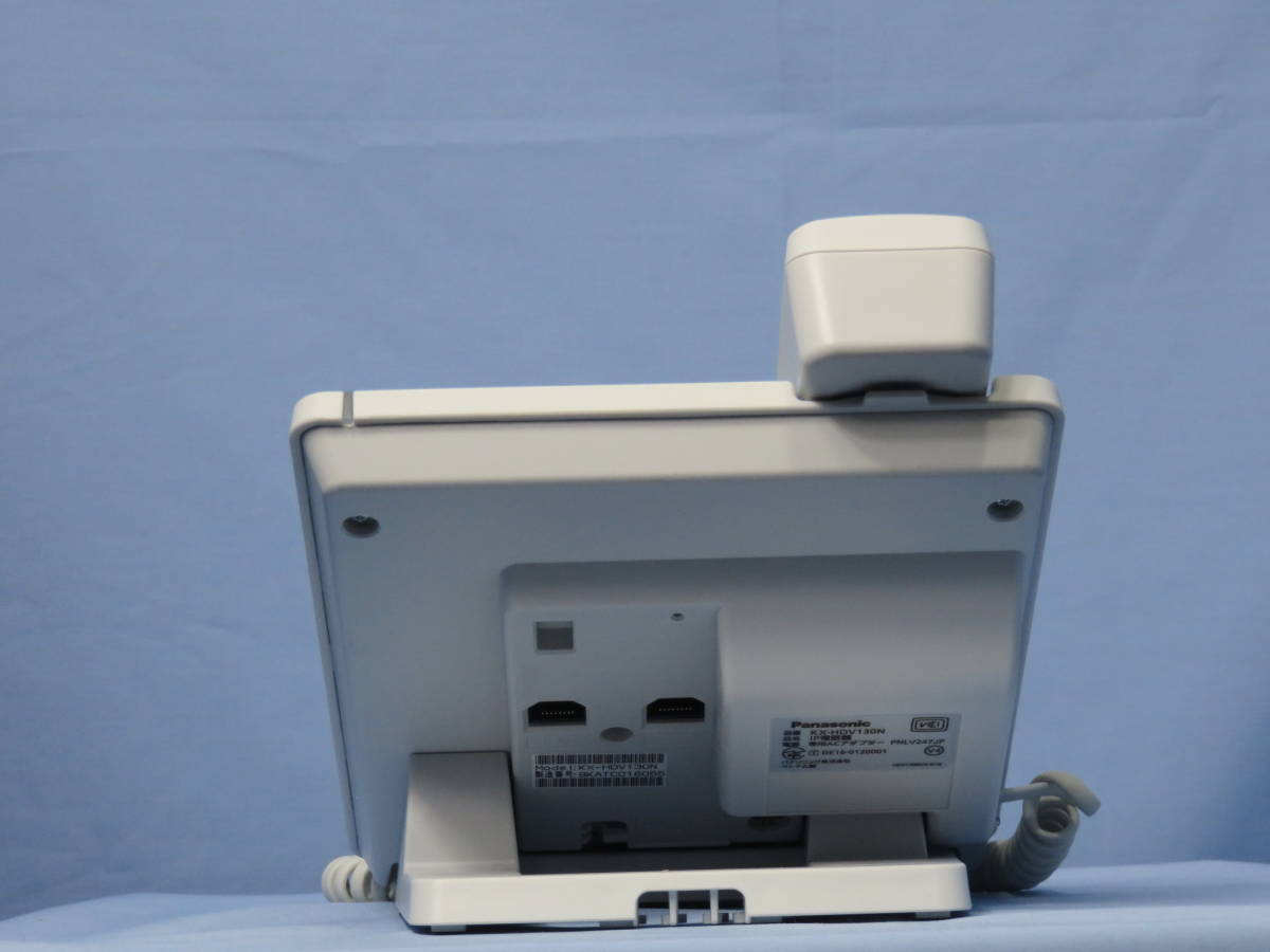[OY072]Panasonic(パナソニック) IP電話機ベーシックモデル(ホワイト) KX-HDV130N 現状販売_画像5