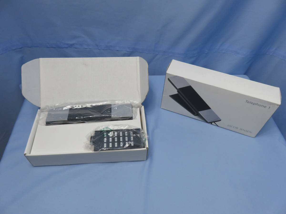 [OY-107]電話機 ヤコブ・イェンセン T-1 シルバー 新品未使用 箱あり  JACOB JENSEN Telephone1 動作未確認_画像9