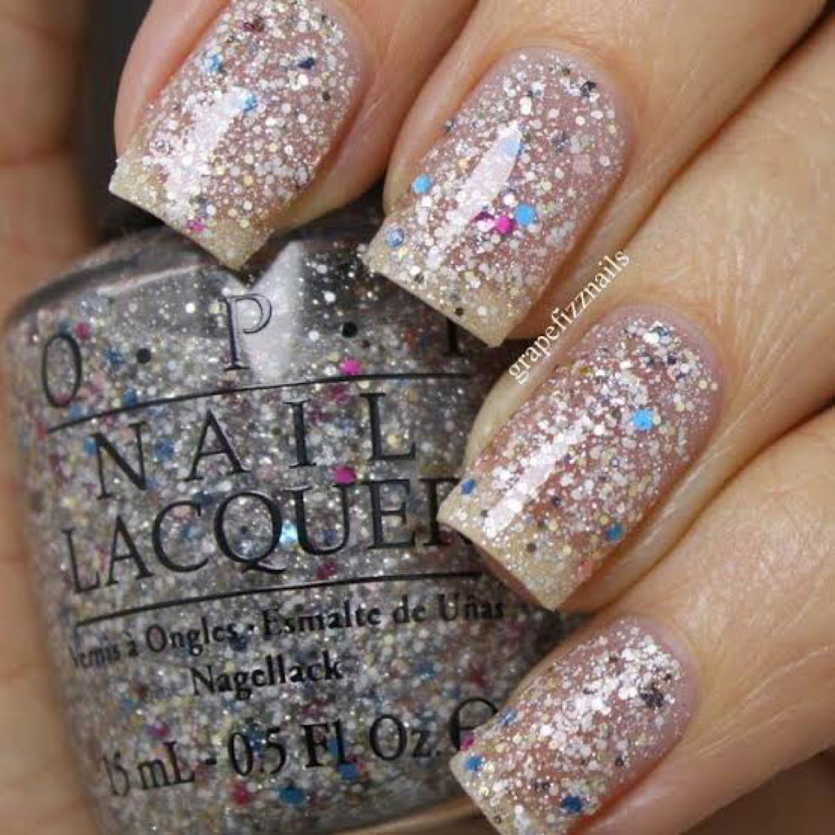 OPI Nail Lacquer NL M75 MUPPETS WORLD TOUR オーピーアイネイル(廃盤)可愛いグリッター
