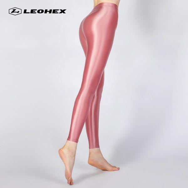 2LE1812. ピンク特注品 超レア【XLサイズ・】 LEOHEX 高品質 高光沢ハイレグレオター レースクイーン・コスプレ・コスチューム 水着