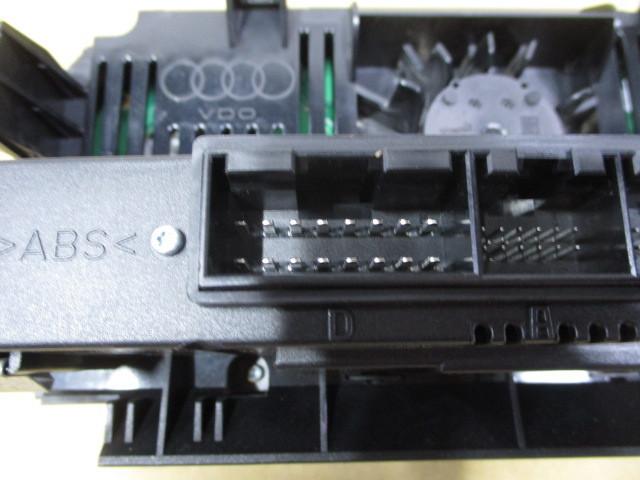アウディ A4 エアコンスイッチパネル 8P0820043AG5PR SIEMENSVDO A2C53242446_画像5