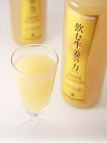 セゾンファクトリー 飲む生姜の力 265ml 高知県産生姜使用 はちみつ入り生姜ドリンク_画像2