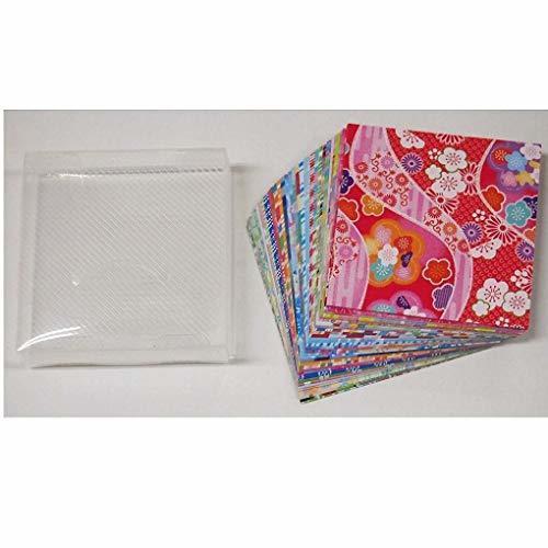 色両面 サイズ7.5cm角 トーヨー 折り紙 和紙風 千代紙づくし 両面 7.5cm角 30柄 120枚入 018061_画像5