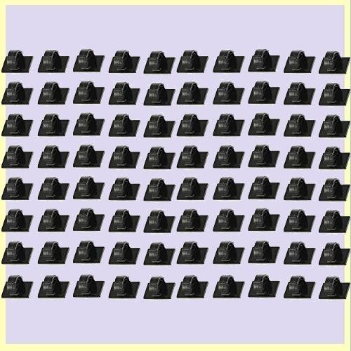 ☆★即決歓迎★☆新品☆未使用★ Amore Tigre 1-MK 配線止め 80個 ケ-ブルクリップ コ-ドクリップ 車内 コ-ド 固定 車 整理_画像1