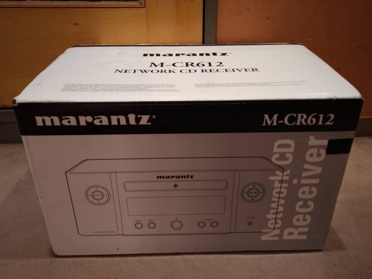 [美品] Marantz M-CR612/FB CDレシーバー マランツ 箱破損_画像2