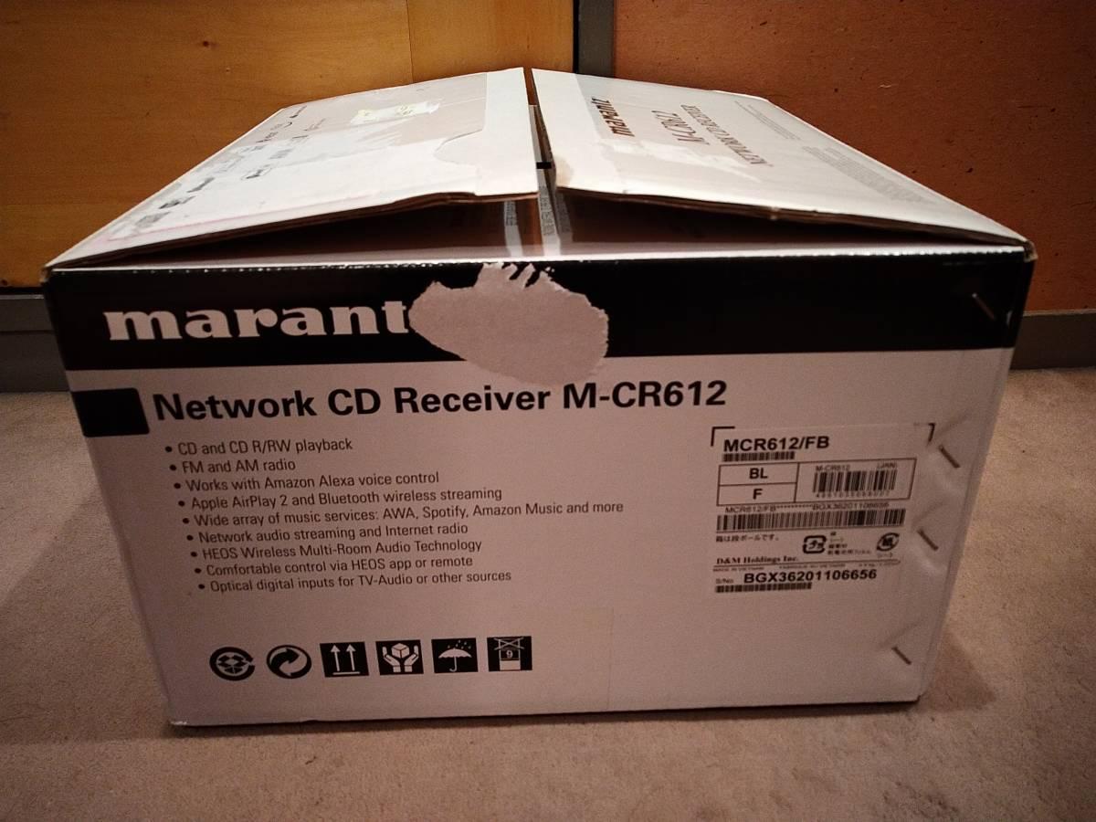 [美品] Marantz M-CR612/FB CDレシーバー マランツ 箱破損_画像5