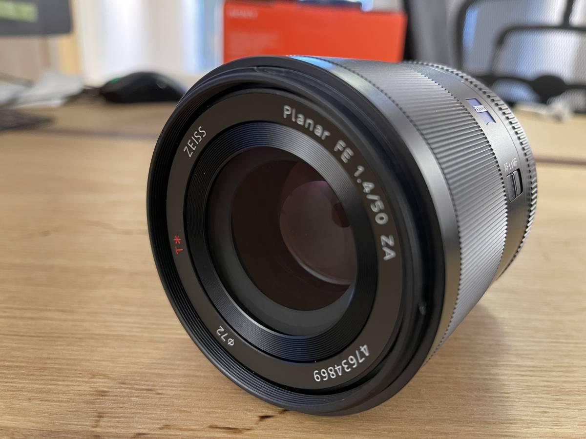 超美品 SONY SEL50F14Z PLANAR T FE 50mm F1.4 ZA
