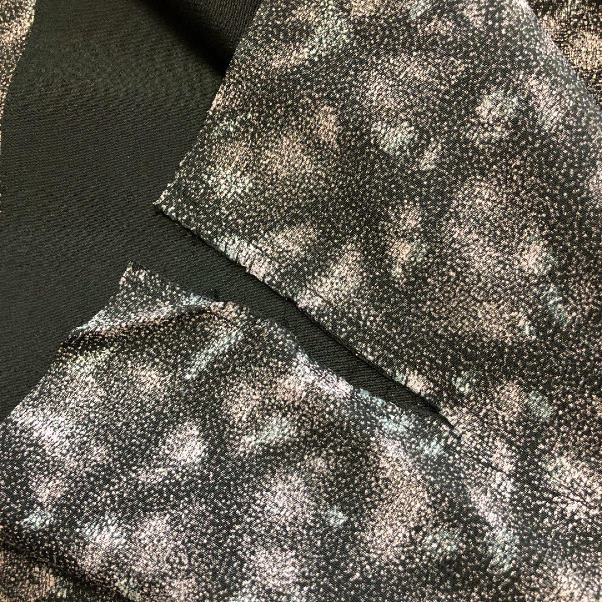 着物 反物 はぎれ 紫系2 和装小物 バッグ インテリア等リメイク用 着物リメイク ハンドメイド素材 パッチワーク つまみ細工