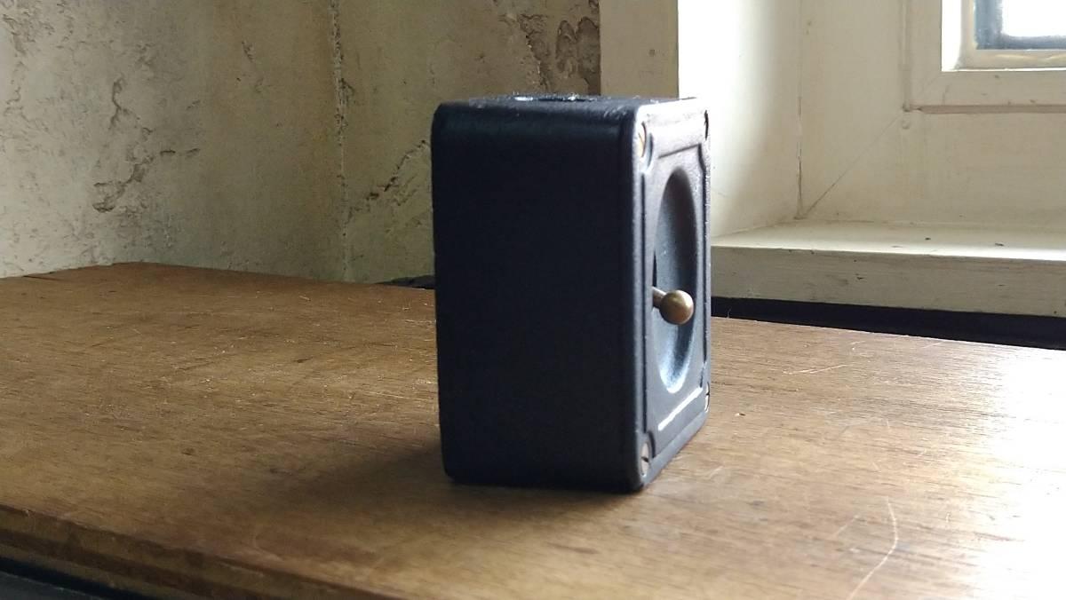 ビンテージ インダストリアル スイッチ スクエアマットブラック vintage industrial switch Made in England_画像3