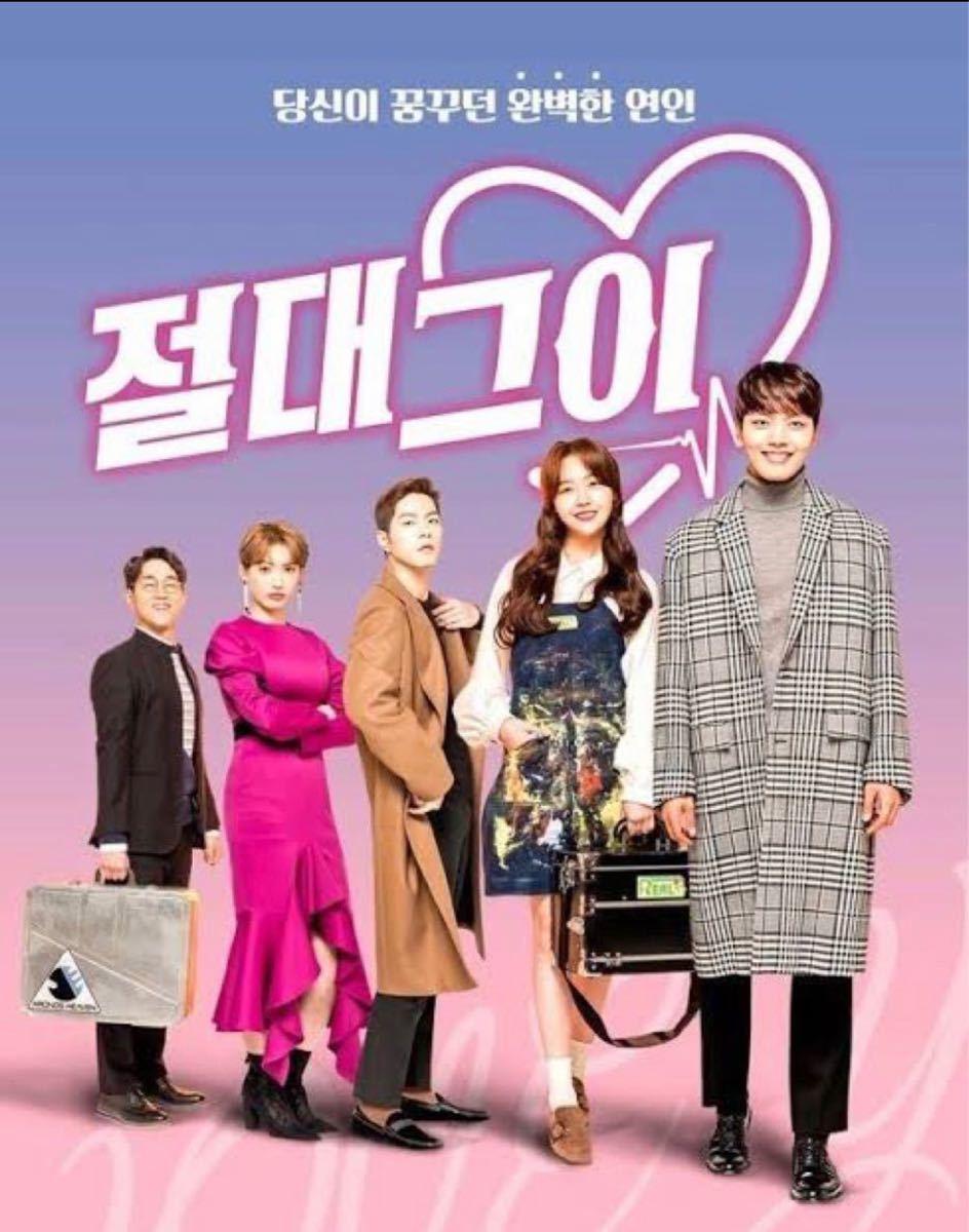 韓国ドラマ 絶対彼氏 Blu-ray2枚