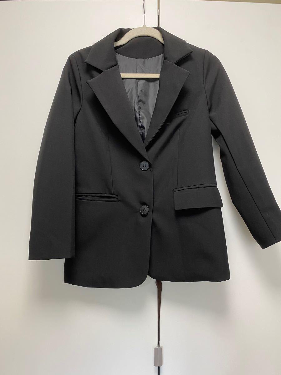 テーラードジャケット ブラック 黒 韓国