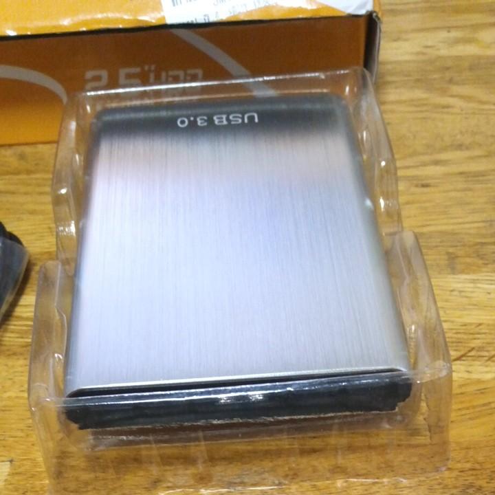 外付けハードディスク HDD 1T USB3.0新品未使用