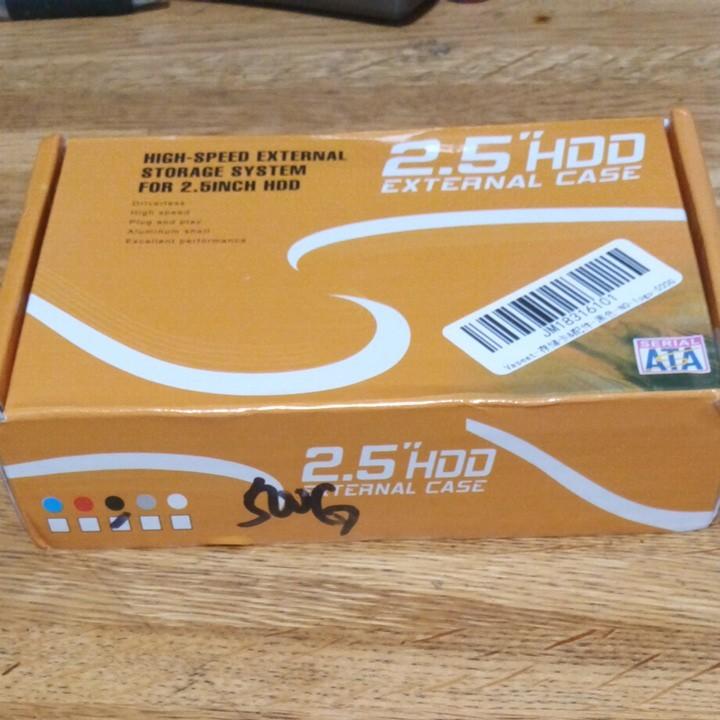 外付けハードディスクHDD500GB USB3.0新品未使用