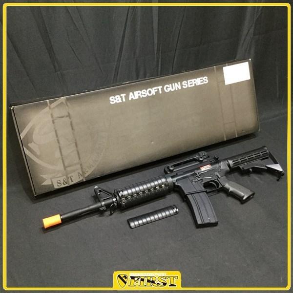 8273】S&T製 M4A1 RISバージョン フルメタル ガスブローバック マグナM4