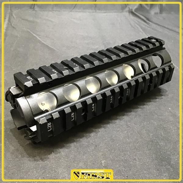8619c】東京マルイ製 ガスブローバックM4用 純正RASハンドガード M4MWS/CQB-R付属品