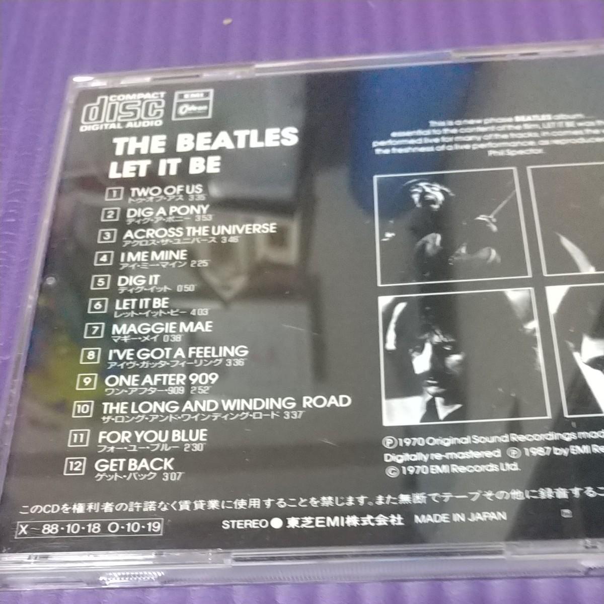 Let It Be レットイットビー CD アルバム