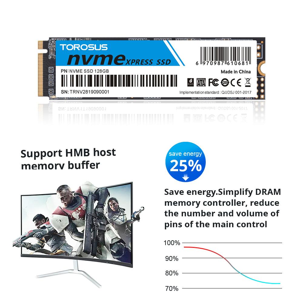 【最安値!】SSD TOROSUS M.2 NVMe PCI-E 256GB 新品未開封 高速 2280 TLC 3D NAND 内蔵型 デスクトップ ノートPC_画像4