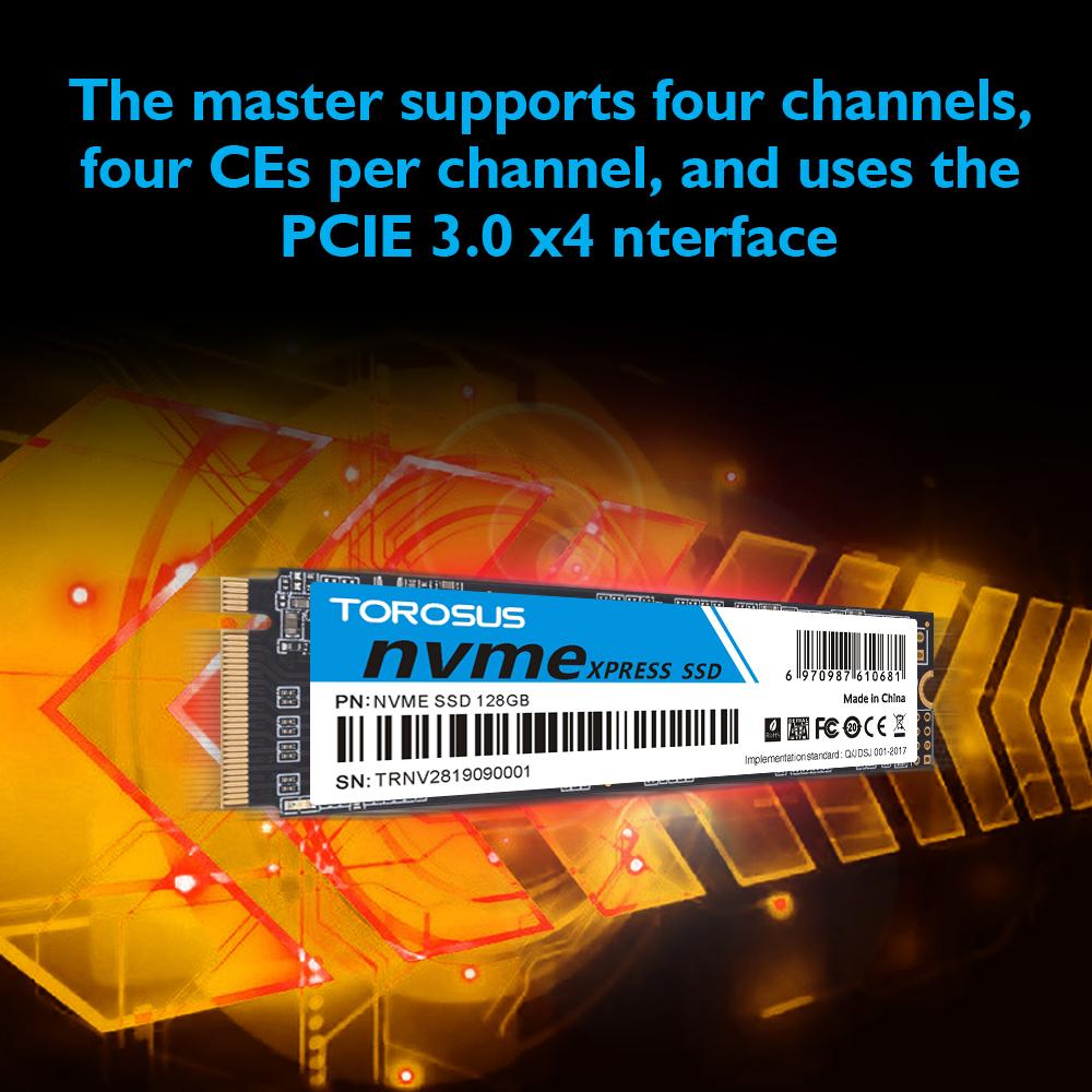 【最安値!】SSD TOROSUS M.2 NVMe PCI-E 256GB 新品未開封 高速 2280 TLC 3D NAND 内蔵型 デスクトップ ノートPC_画像8
