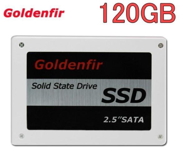 【最安値!】SSD Goldenfir 120GB SATA3 / 6.0Gbps 新品 2.5インチ 高速 NAND TLC 内蔵 デスクトップPC ノートパソコン_画像1