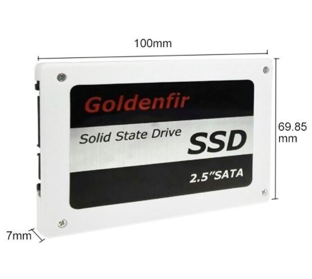 【最安値!】SSD Goldenfir 120GB SATA3 / 6.0Gbps 新品 2.5インチ 高速 NAND TLC 内蔵 デスクトップPC ノートパソコン_画像3