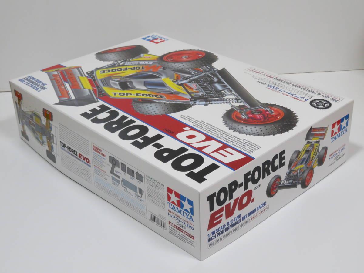 送料込み! トップフォース EVO.(2021) 塗装カット済みボディ タミヤ 1/10 電動RC4WDレーシングバギー ITEM47470