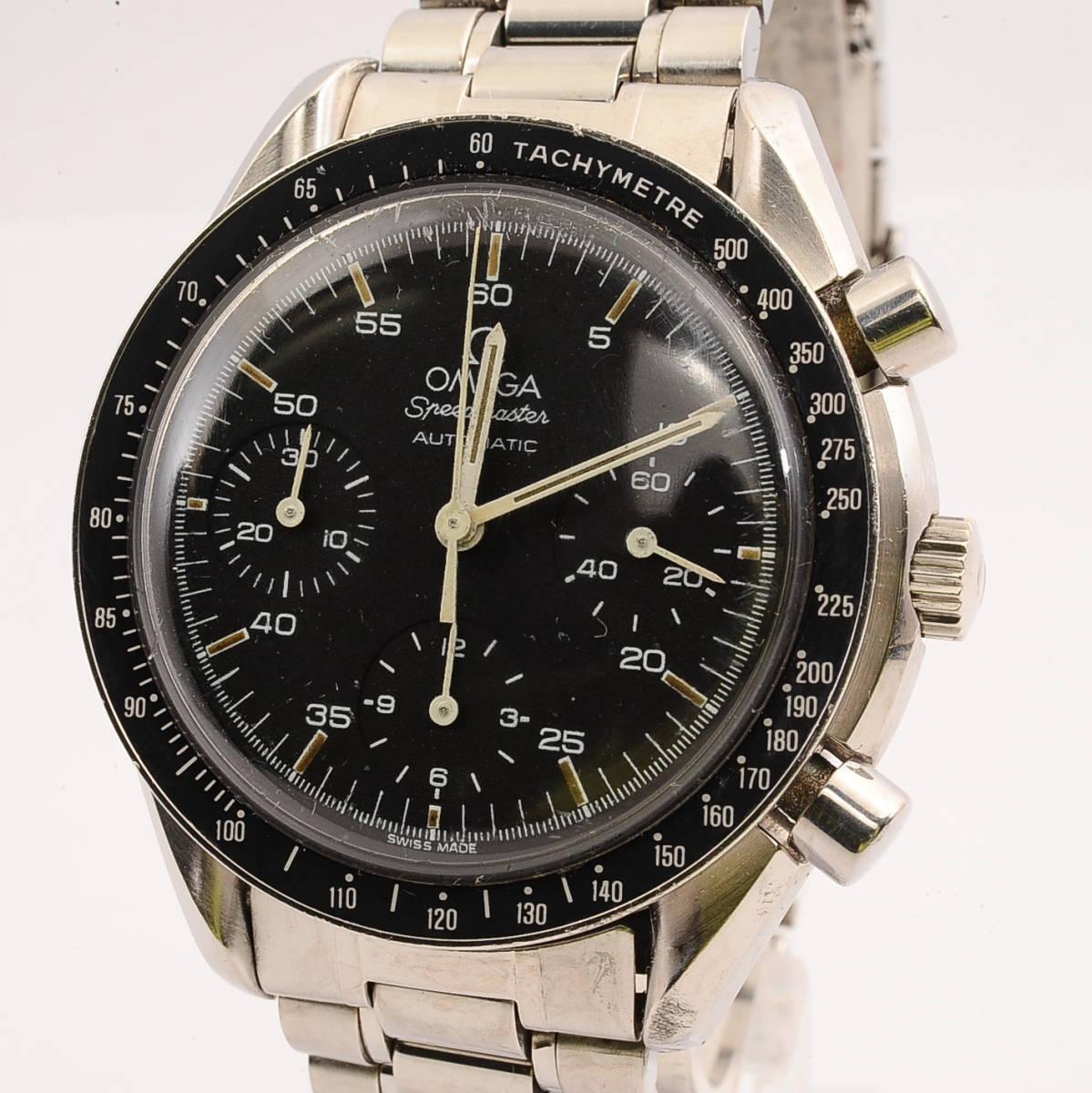 【希少品】オメガ スピードマスター Ref,175.0032 Cal,1140 OMEGA Speedmaster Automaticクロノグラフ 自動巻 メンズ 男性腕時計[53676495]