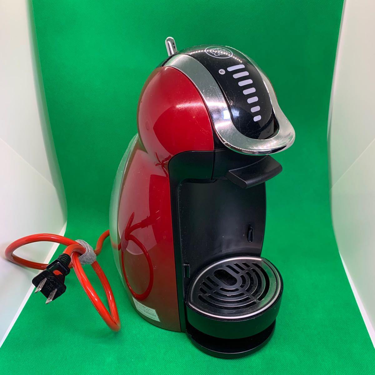ネスカフェ ドルチェ グスト ジェニオ2 プレミアム コーヒーメーカー ネスレ ワインレッド MD9771-WR NDGCPS