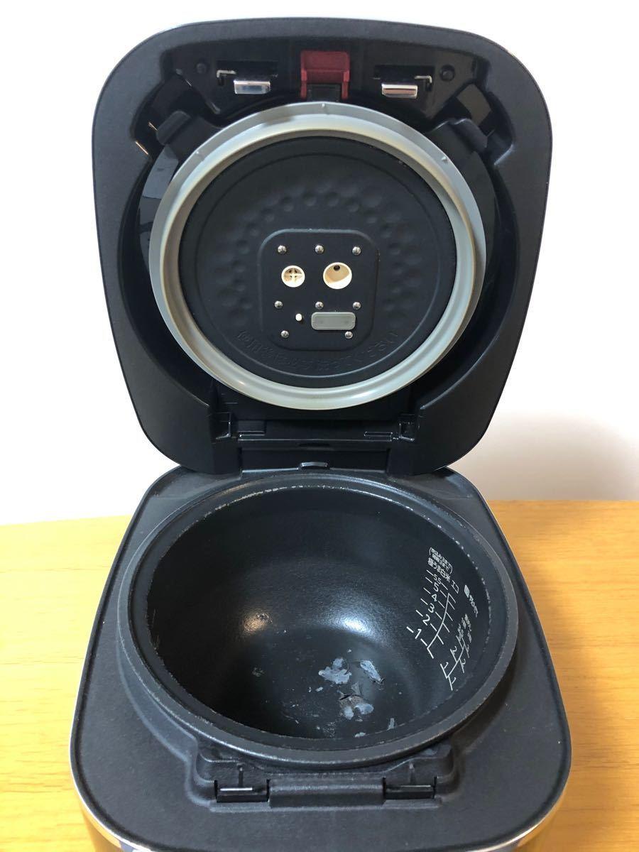 タイガー魔法瓶 JKX-V101 圧力IH炊飯器 本土鍋内釜コーティング剥げ有