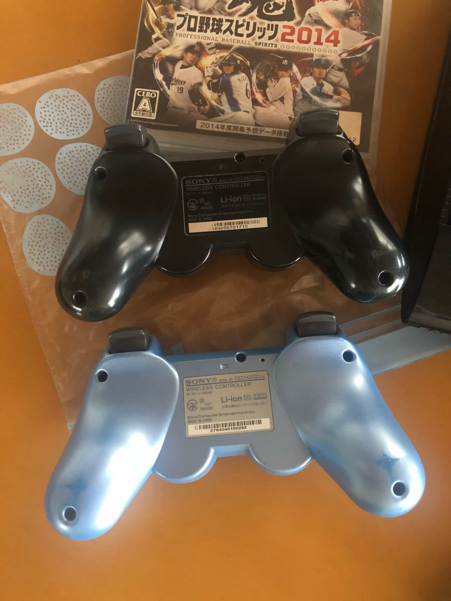 PlayStation3 プレステ3本体 コントローラー×2